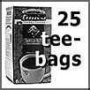 25 pack teebags teeccino
