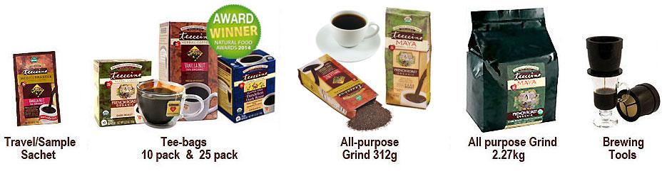 Teeccino product range